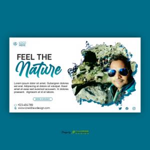 Nature Banner Template Premium Vactor