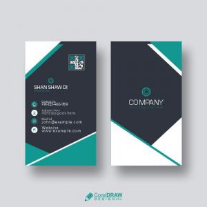 Premium Business Card Design Free Vector