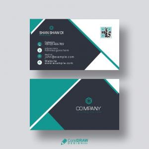 Premium Business Card Free Vector Design