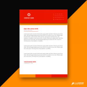 Business Letterhead Premium Vector