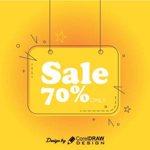 Big Sale 70 percent Discount Trending 2021 Design Template Free Download