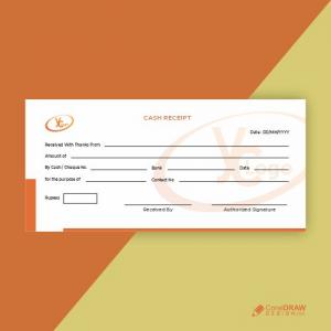 Corporate Business Cash Receipt Free Vactor