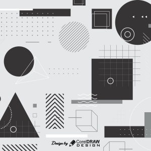 Abstract Shape Background Coreldraw 2021 Trending 2021 Free Template Download