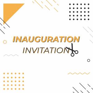 Inauguration Invitation Coreldraw 2021 Trending 2021 Free Template Download