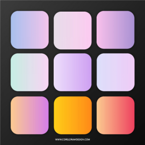 Trendy Soft Colorful Gradients