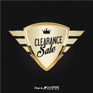 Clearance Sale Golden Badge Free Vector AI EPS Download Trending 2021 Free