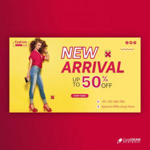 Fashion Sale Social Media Banner Template Free