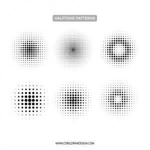 Circular Halftone Patterns