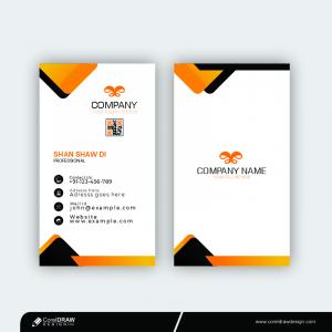 Corporate Clean Business Card Template Free Design