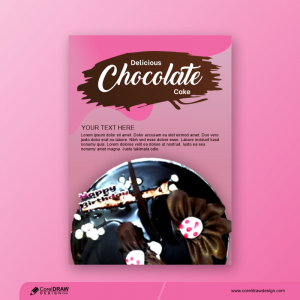 Birthday Card Template Banner Premium Vector Design