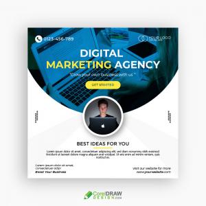 Digital Marketing Business Social Media Banner Template