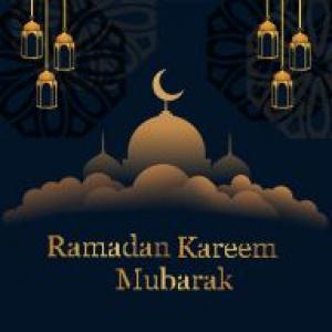 Beautiful ramadan kareem banner  Vector