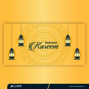 Creative Ramadan Kareem Premium Vector