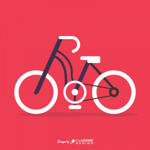 Bicycle Icon Illustration Download Free From Coreldrawdesign