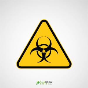 Dangerous Bio Hazardous Area Sign Board