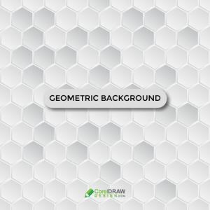 Abstract Geometric Hexagonal  Background