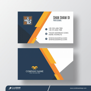 Corporate Clean and Modern Business Card Design