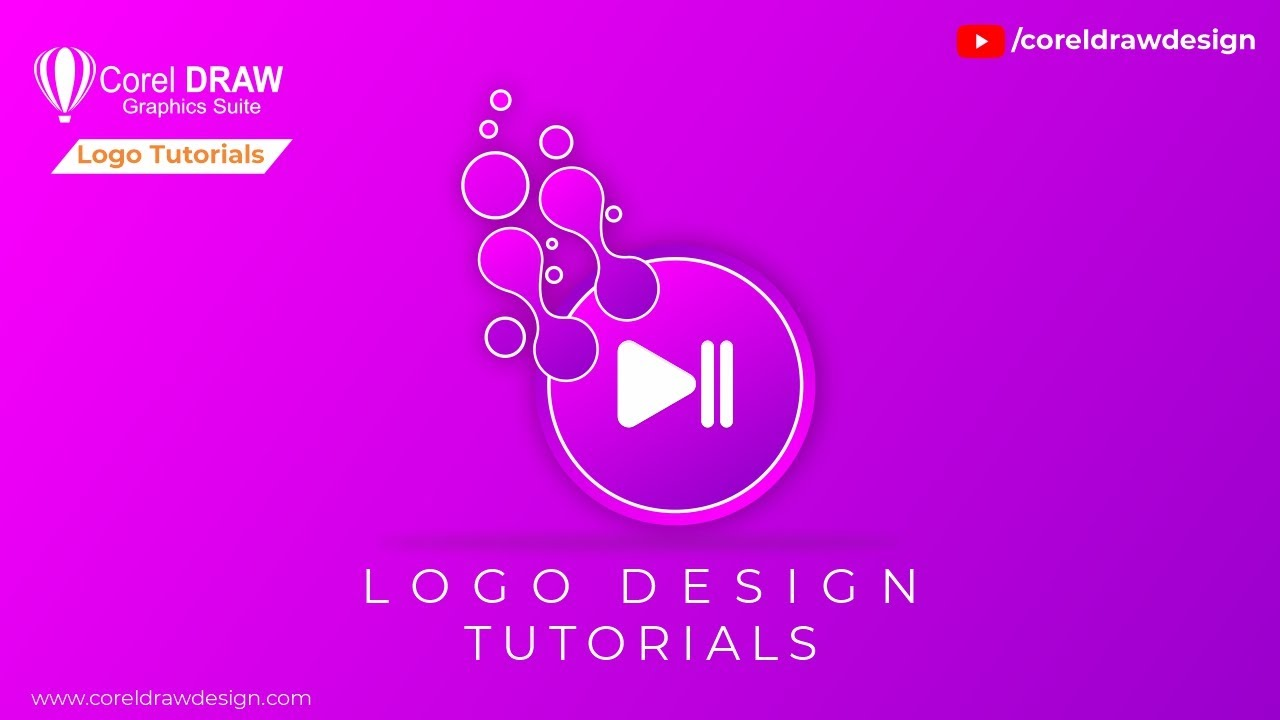 Music logo design Design Tutorials Digital Graphics Beginners Class Tutorial | Coreldraw