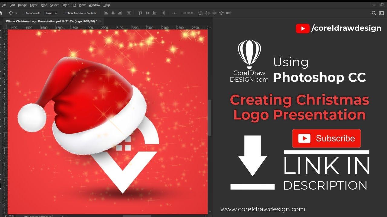 Christmas Home Location Logo Presentation-Digital Graphics-Tutorial-Coreldraw for Beginners