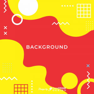 Abstract Background Red And Yellow Download From Coreldrawdesign Free Cdr Version