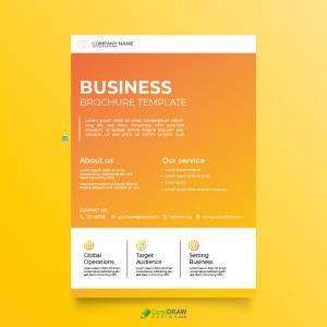 Corporate Single Page Brochuer Template