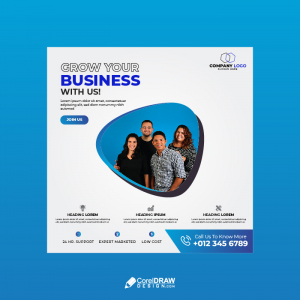 Professional Corporate Digital Marketing Agecny Banner