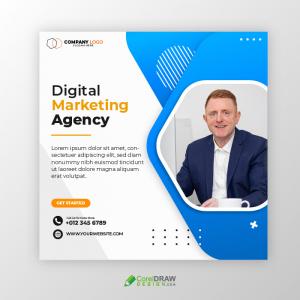 Corporate Digital Marketing Agency Social Media Banner