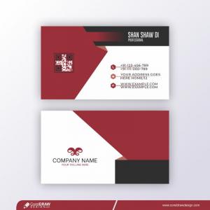 Corporate Card Template Free Premium Vector