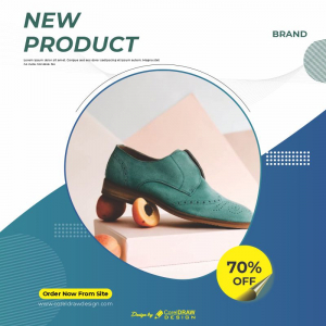 New Product Template Poster Download From Coreldrawdesign Free