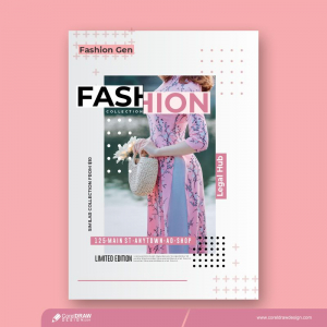 Magazine Cover Poster Download From Coreldrawdesign Free Template CDR Version
