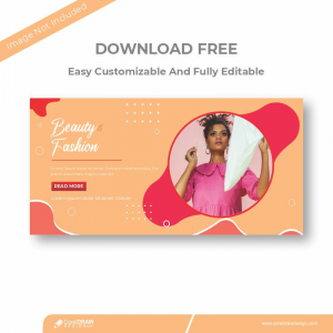 Beauty n Fashion Cover Banner Download From Coreldrawdesign Free Template