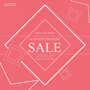 Unlimited Discount Sale Download Free CDR File From Coreldrawedsign