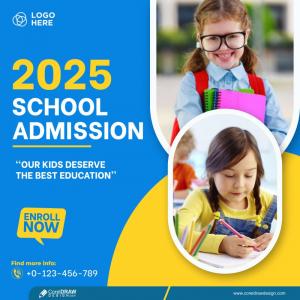 School Banner Design Education & School Promotion Template