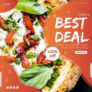 Best Deal Food Poster Banner Download From Coreldrawdesign