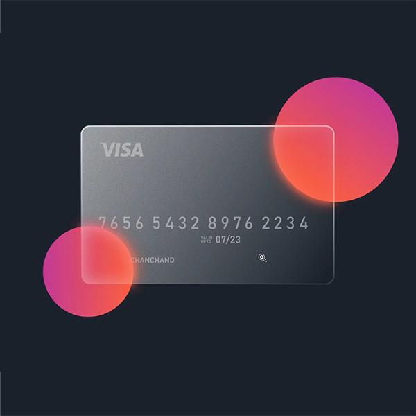 How to make Glass Card Design in CorelDraw | Glass Effect | CorelDrawDesign
