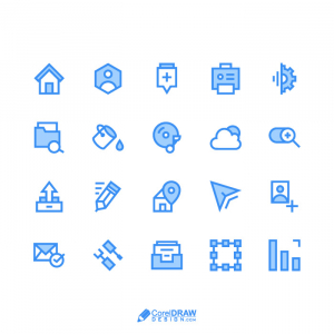 Abstract Creative Web Icons