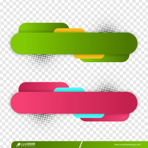 Modern Lower Two Banners Template Premium Vector