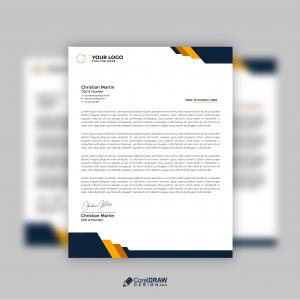 Corporate Business Professional letterhead Vector Template