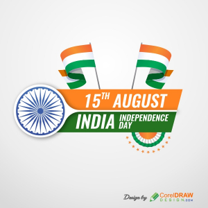 Creative Indian Independence Day Background Free Vector