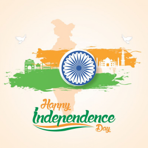 Independence Day Creative CDR Greeting Download From Coreldrawdesign