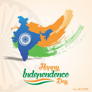 Happy Independence Day India Creative CDR Download From Coreldrawdesign