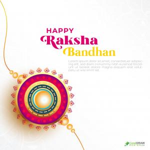 Happy Raksha Bandhan Indian Rakhi Festival Background
