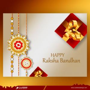 Raksha Bandhan Beautiful Traditional Banner Design Free Vector