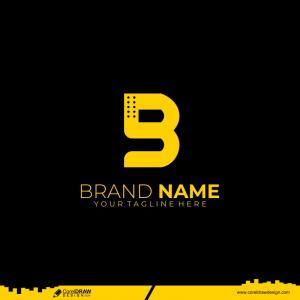 Letter B Logo Corporate Design