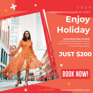 Enjoy Holiday Free Poster Download From Coreldrawdesign Vector CDR EPS
