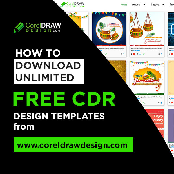 Download Unlimited free CDR files from coreldrawdesign website
