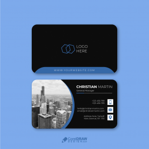 Corporate trendy Professional Business Card