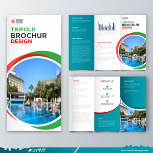 Trifold Business Brochure Template Free Design