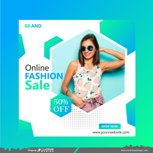 Fashion sale instagram,social media post design
