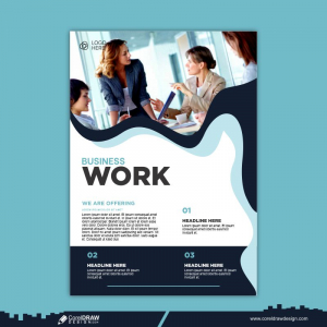 General Business Flyer Template Free Vector